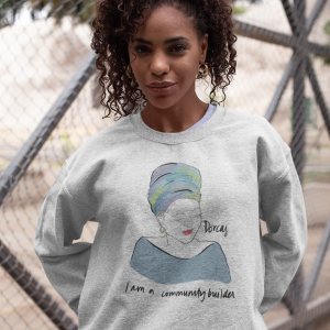 Dorcas Cotton Graphic Hoodie