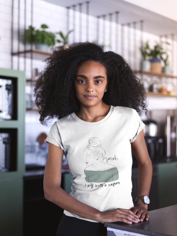 Sarah Cotton Graphic T-Shirt