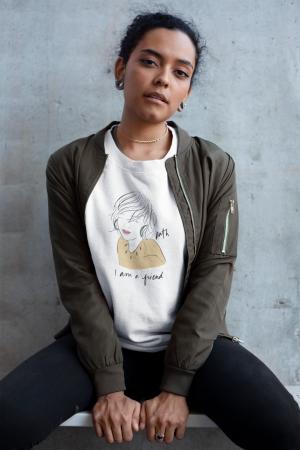 Ruth Cotton Graphic Sweatshirt