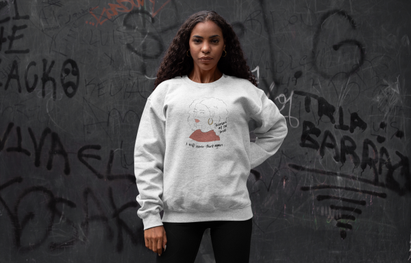 Woman At the Well Cotton Graphic Sweatshirt